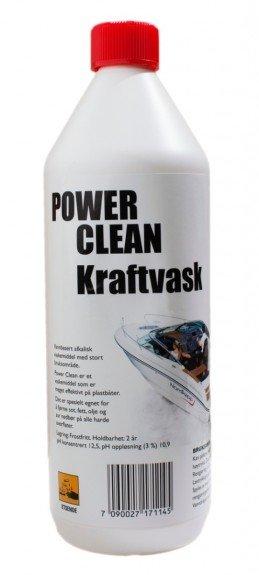 Power Clean Kraftvask som løser opp fett, olje, sot og vegetabilsk eller animalsk fett