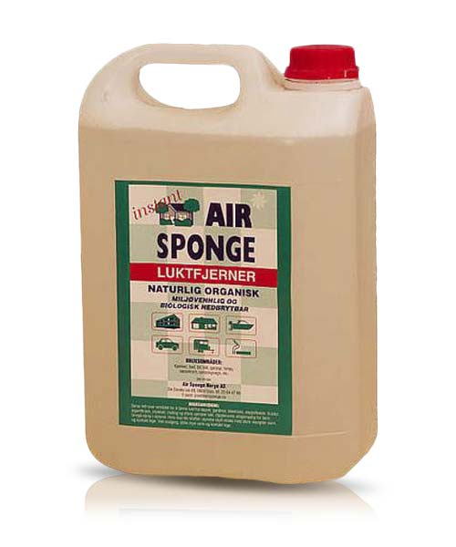 Flytende og effektiv Air Sponge 5 liter