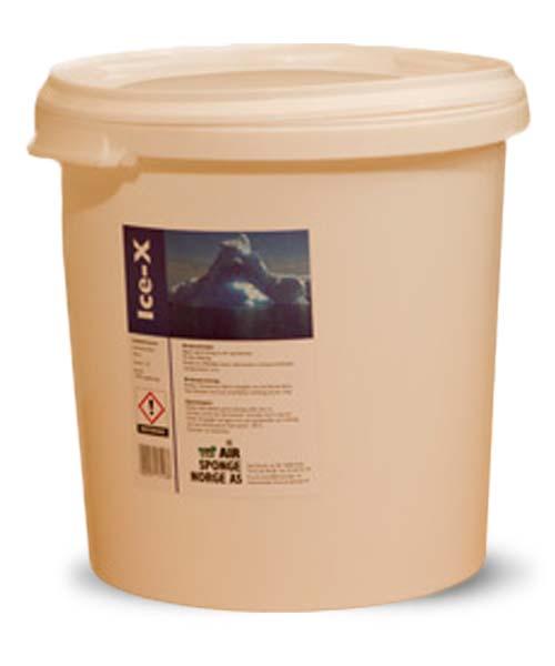 Ice-X - Effektivt middel for fjerning av is/issmeltelting 1